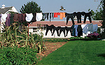 Farm clothes on clothes line dry in sun Commonwealth of Pennsylvania, Keystone state, Thirteen Colonies, Constitution, Fine Art Photography by Ron Bennett, Fine Art, Fine Art photography, Art Photography, Copyright RonBennettPhotography.com © Fine Art Photography by Ron Bennett, Fine Art, Fine Art photography, Art Photography, Copyright RonBennettPhotography.com ©