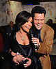 Rachael Ray talks with Donny Osmond during the production of an episode of The Rachael Ray Show in New York on Tuesday, February 26, 2007..Photo: David M. Russell.©2008 David M. Russell. All Rights Reserved