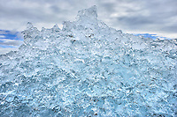 Glacier Ice on Beach, Jokulsarlon, Iceland