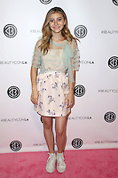 LOS ANGELES, CA - JULY 09: G. Hannelius at the 4th Annual Beautycon Festival Los Angeles at the Los Angeles Convention Center on July 9, 2016 in Los Angeles, California. Credit: David Edwards/MediaPunch