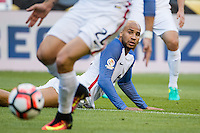 Seattle, WA - Thursday, June 16, 2016: United States defender John Brooks (6)during the Quarterfinal of the 2016 Copa America Centenrio at CenturyLink Field.