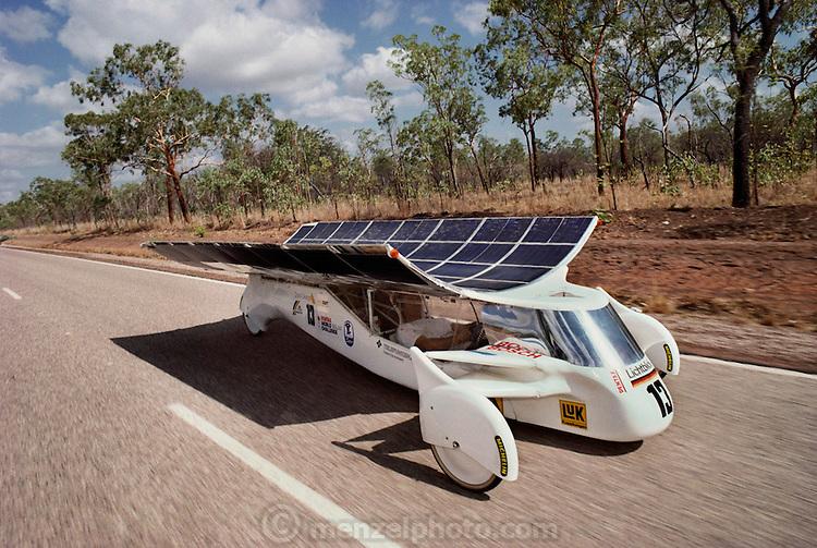 Solar Powered Car Race Darwin To Adelaide