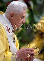 Consistory ceremony Pope Benedict XVI in Saint Peter's Basilica at the Vatican.November 25, 2007