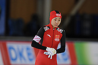 SCHAATSEN: BERLIJN: Sportforum, 06-12-2013, Essent ISU World Cup, 500m Ladies Division B, Shuai Qi (CHN), ©foto Martin de Jong