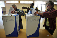 Voters cast their ballots in the 2009 general election at a polling station in Milnerton.