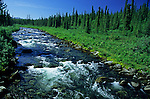 Brushkana Creek, from Denali Highway, Alaska
