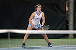21 February 2017: UNC's Jessie Aney. The University of North Carolina Tar Heels hosted the Appalachian State University Mountaineers at the Cone-Kenfield Tennis Center in Chapel Hill, North Carolina in a Women's College Tennis match. North Carolina won the match 6-1.