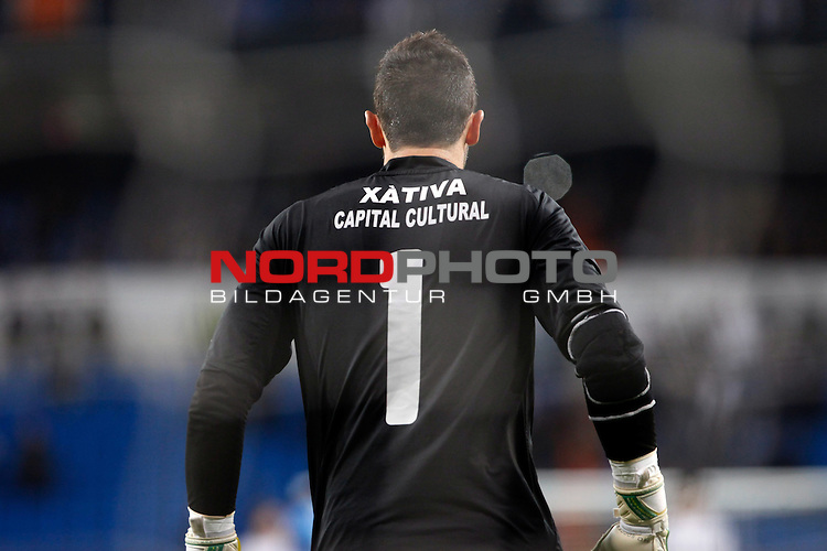 Olimpic de Xativa¬¥s Francis during a Copa del Rey soccer match between Real Madrid and Olimpic de Xativa at Santiago Bernabeu Stadium in Madrid. December 18, 2013. Foto © nordphoto / Caro Marin) *** Local Caption ***