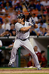 16 June 2006: Johnny Damon, center fielder for the New York Yankees, in action against the Washington Nationals at RFK Stadium, in Washington, DC. The Yankees defeated the Nationals 7-5 in the first meeting of the two franchises...Mandatory Photo Credit: Ed Wolfstein Photo...