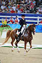 Hiroshi Hoketsu (JPN), August 14, 2008 - Equestrian : during the Beijing 2008 .Summer Olympic Games Dressage Competition at Shatin in Hong Kong, China. .(Photo by Yusuke Nakanishi/AFLO SPORT) [1090] .