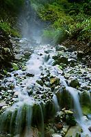 Baslay hot spring falls