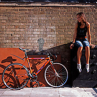 Inna and her new fixie