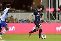 San Jose, CA - Friday April 14, 2017: Jahmir Hyka  during a Major League Soccer (MLS) match between the San Jose Earthquakes and FC Dallas at Avaya Stadium.