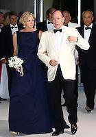 Prince Albert of Monaco & Princess Charlene t attend the 66th Monaco Red Cross Ball Gala - Monaco