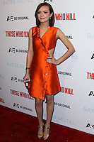 """HOLLYWOOD, LOS ANGELES, CA, USA - FEBRUARY 26: Olivia Cooke at the Premiere Party For A&E's Season 2 Of """"Bates Motel"""" & Series Premiere Of """"Those Who Kill"""" held at Warwick on February 26, 2014 in Hollywood, Los Angeles, California, United States. (Photo by Xavier Collin/Celebrity Monitor)"""