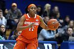 08 January 2015: Syracuse's Cornelia Fondren. The Duke University Blue Devils hosted the Syracuse University Orange at Cameron Indoor Stadium in Durham, North Carolina in a 2014-15 NCAA Division I Women's Basketball game. Duke won the game 74-72.
