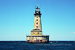 Stannard Rock Lighthouse lighthouses in the Upper Peninsula of Michigan