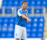 St Johnstone FC Season 2012-13.Scott Gray.Picture by Graeme Hart..Copyright Perthshire Picture Agency.Tel: 01738 623350  Mobile: 07990 594431
