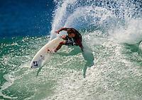 Brendan 'Margo' Margieson (AUS) surfing his home break of Lennox Head. NSW Australia. circa 1994 Photo: joliphotos.com