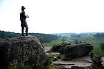 American Civial War Battle of Gettysburg Pennsylvania, Battle of Gettysburg, July 1-3 1863, cannon, cannon in field, Gettysburg Pennsylvania, Gettysburg Campaign, American Civil War, Union Victory over Confederacy, Commonwealth of Pennsylvania, Northeasterners, Middle Atlantic region, Philadelphia, Keystone State, 1802, Thirteen Colonies, Declaration of Independence, State of Independence, Liberty, Conestoga wagons, Quaker Province, Founding Fathers, 1774, Constitution written,<br /> Fine art Photography and Stock Photography by Ronald T. Bennett <br /> Photography &copy;,