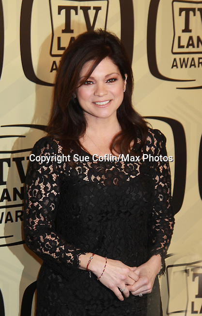 """Valerie Bertinelli - One Day At A Time at the 10th Anniversary of the TV Land Awards on April 14, 2012 to honor shows """"Murphy Brown"""", """"Laverne & Shirley"""", """"Pee-Wee's Playhouse"""", """"In Loving Color"""" and """"One Day At A Time"""" and Aretha Franklin at the Lexington Armory, New York City, New York. (Photo by Sue Coflin/Max Photos)"""