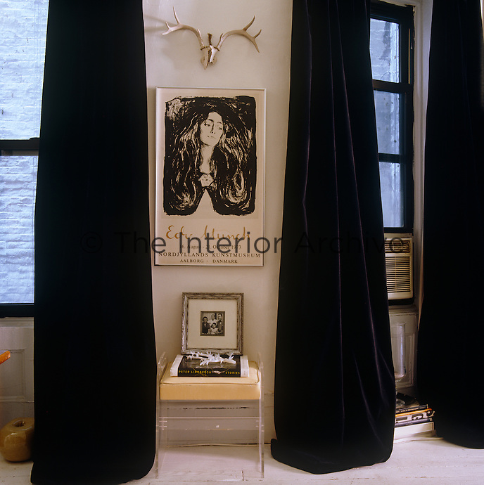 Curtains Ideas black velour curtains : Simon Upton | The Interior Archive