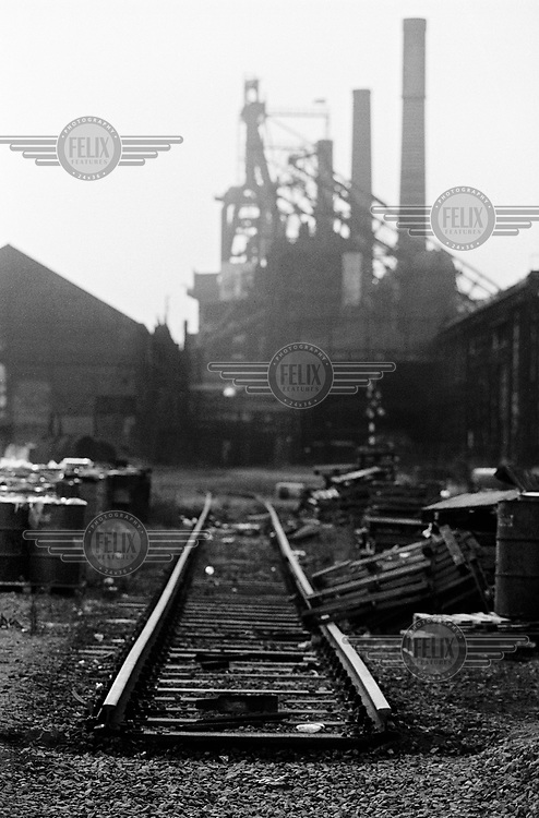 The disused Forges de Clabecq steelworks.