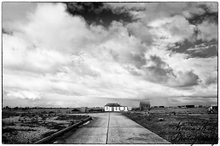 Road to a house at Dungeness