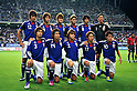 U-22Japan team group line-up (JPN), SEPTEMBER 21, 2011 - Football / Soccer : Japan team group shot (Top row - L to R) Mizuki Hamada, Yuya Osako, Hiroki Sakai, Daisuke Suzuki, Kazuya Yamamura, Shuichi Gonda, (Bottom row - L to R) Takahiro Ogihara, Genki Haraguchi, Gotoku Sakai, Hiroshi Kiyotake and Keigo Higashi before the 2012 London Olympics Asian Qualifiers Final Round Group C match between U-22 Japan 2-0 U-22 Malaysia at Tosu Stadium in Saga, Japan. (Photo by Jinten Sawada/AFLO)