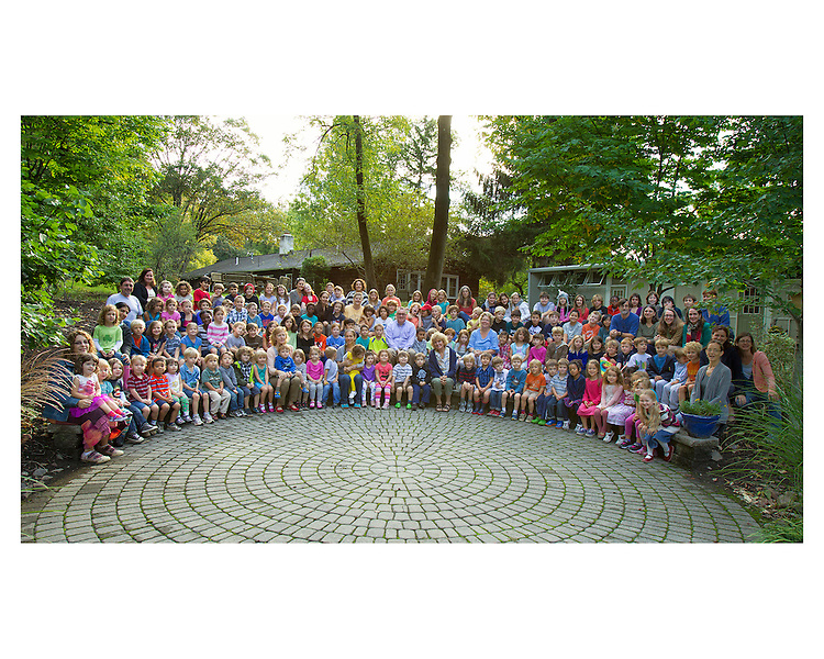 The School in Rose Valley 2012 All School Picture