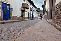 Streets of Cusco, Peru, South America