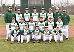 3-28-17, Huron High School varsity baseball team