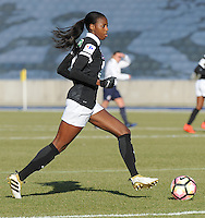 20170129 - LILLE , FRANCE : Juvisy's Aissatou Tounkara pictured during women soccer game between the women teams of Lille OSC and FFC Juvisy Essonne  during the 1/16 final for the 2017 French Cup at stade Lille Metropole , Sunday 29th of January ,  PHOTO Dirk Vuylsteke | Sportpix.Be