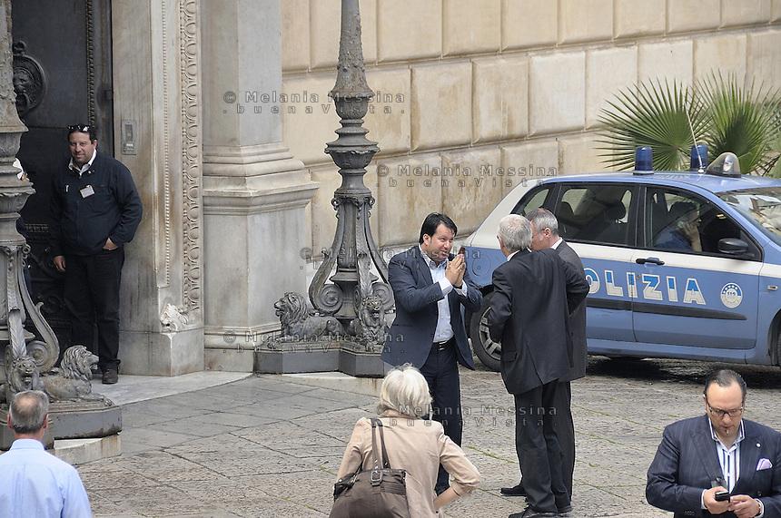 Palermo; palazzo delle aquile, consiglieri comunali.<br /> Palermo town hall: councillors