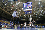 17 November 2016: Duke's Lexie Brown (4) shoots a layup. The Duke University Blue Devils hosted the Grand Canyon University Antelopes at Cameron Indoor Stadium in Durham, North Carolina in a 2016-17 NCAA Division I Women's Basketball game. Duke won the game 90-47.