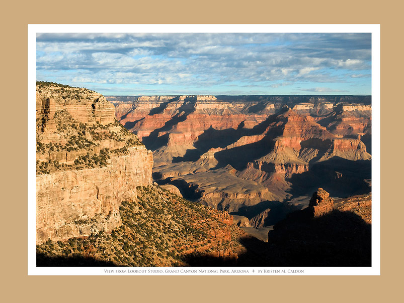 The View from Lookout Studio<br /> Grand Canyon National Park