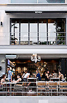 Between is one of a variety of chic cafes, restaurants and bars that are becoming the norm in the once seedy district of Itaewon in Seoul, South Korea on 25 June 2010..Photographer: Rob Gilhooly