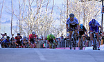 World Champion Peter Sagan (SVK) Bora-Hansgrohe powers his way to the finish line ahead of Thibaut Pinot (FRA) FDJ in Fermo during Stage 5 of the 2017 Tirreno Adriatico running 210km from Rieti to Fermo, Italy. 12th March 2017.<br /> Picture: La Presse/Gian Mattia D'Alberto | Cyclefile<br /> <br /> <br /> All photos usage must carry mandatory copyright credit (&copy; Cyclefile | La Presse)