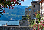 Corenno Plinio, a small town built around a castle on Lake Como, Italy