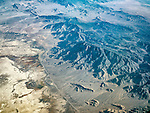 Railroad Valley &amp; the Grant Range, Nye Co., Nev. USA Fly-over County-from the window seat of Southwest #1882 from SMF to DAL, September 2016<br /> <br /> Blue Eagle Ranch lower left