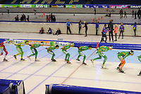 SCHAATSEN: HEERENVEEN: IJsstadion Thialf, 02-01-2013, Seizoen 2012-2013, KPN NK Mass-Start, Heren, ©foto Martin de Jong