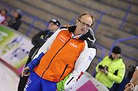 SCHAATSEN: CALGARY: Olympic Oval, 09-11-2013, Essent ISU World Cup, Jac Orie (trainer coach Team BrandLoyalty/Team Activia), ©foto Martin de Jong