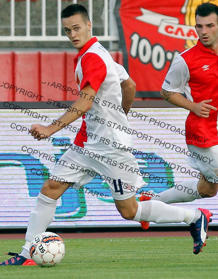 Mirko Ivanic Jelen Super Liga JSL Superliga Srbije Vojvodina - Cukaricki Jul 19. 2015. (credit image & photo: Pedja Milosavljevic / STARSPORT)