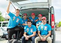 20140821: SLO, Alpine Ski - Departure of Slovenian Men Ski Team to Argentina