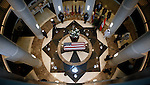 The body of former Tennessee Senator Howard Baker lay in state at the The Howard H. Baker, Jr. Center for Public Policy Monday, June 30, 2014, in Knoxville, Tenn. (AP Photo/Wade Payne)