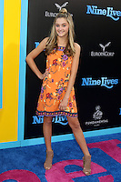 HOLLYWOOD, CA - AUGUST 01: Lizzy Greene at the film premiere for 'Nine Lives' at the TCL Chinese Theatre on August 1, 2016 in Hollywood, California. Credit: David Edwards/MediaPunch