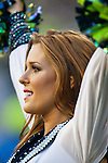 Seattle Seagals perform during the Seahawks vs. Green Bay Packers in the NFL Kickoff Game game at CenturyLink Field in Seattle, Washington on September 4, 2014.  Seattle beat Green Bay 36-16. ©2014  Jim Bryant Photo. ALL RIGHTS RESERVED.