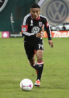 WASHINGTON, DC - OCTOBER 20, 2012:  Andy Najar (14) of D.C United against the Columbus Crew during an MLS match at RFK Stadium in Washington D.C. on October 20. D.C United won 3-2.
