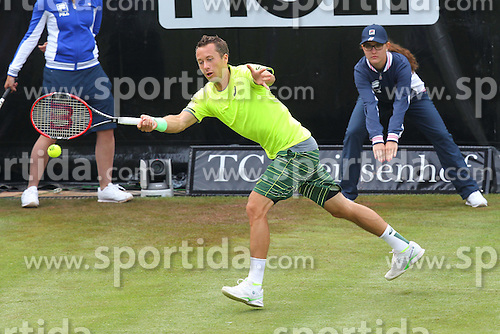 08.06.2015, Tennis Club Weissenhof, Stuttgart, GER, ATP Tour, Mercedes Cup Stuttgart, im Bild Philipp Kohlschreiber ( GER ) // during the Mercedes Cup of ATP world Tour at the Tennis Club Weissenhof in Stuttgart, Germany on 2015/06/08. EXPA Pictures &copy; 2015, PhotoCredit: EXPA/ Eibner-Pressefoto/ Langer<br /> <br /> *****ATTENTION - OUT of GER*****