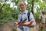 Rachel With Bom Jardim Toad, Tiputini